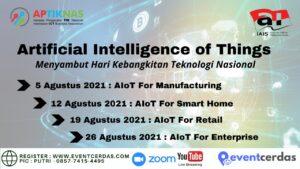 Ikuti Implementasi Artificial Intelligence of Things (AIoT) Agustus 2021
